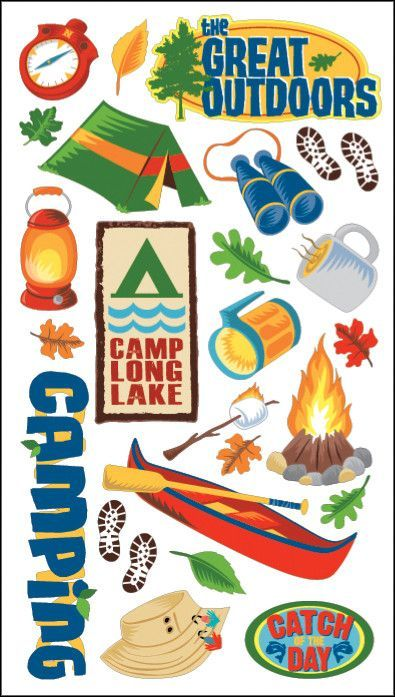 Sticko Classic Stickers - The Great Outdoors
