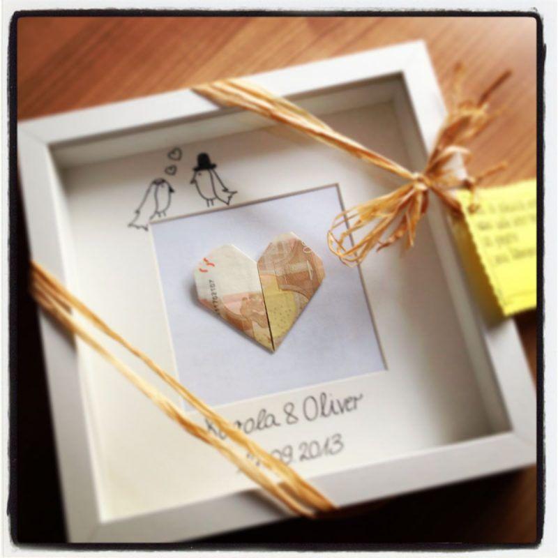 ▷ Wedding Gift Creative Packing Money: 71 DIY Ideas
