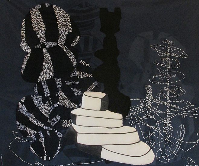 2013 Large Works on Paper | Sarah Amos Studio