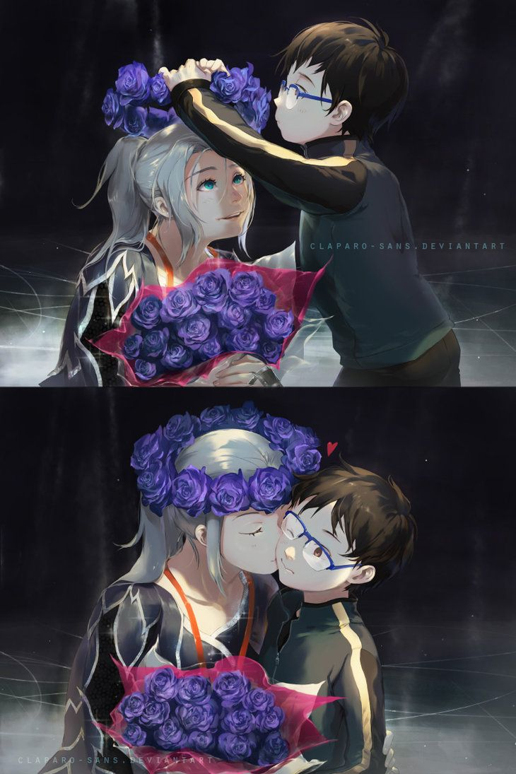 [YOI] Victor and his little fan by Claparo-Sans on DeviantArt