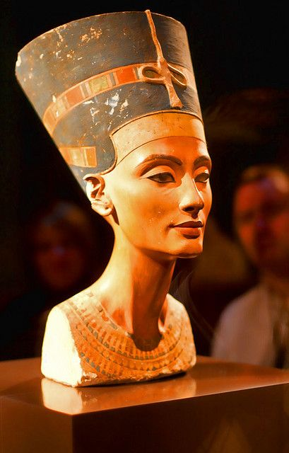 Buste Der Nofretete Ancient Egypt Nefertiti Egypt Art