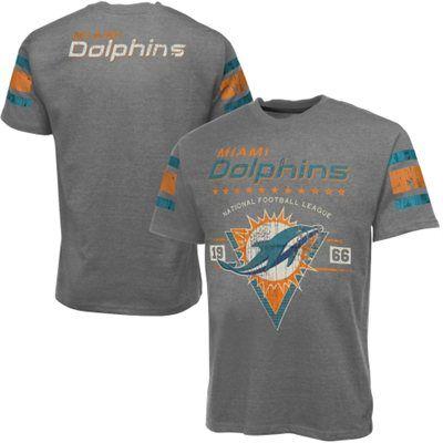 Miami Dolphins Play Dirt T-Shirt - Ash  9d097a8b5