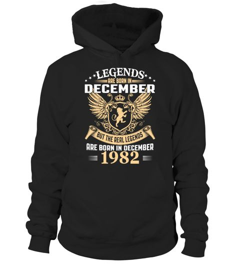 Legends are Born in December 1982
