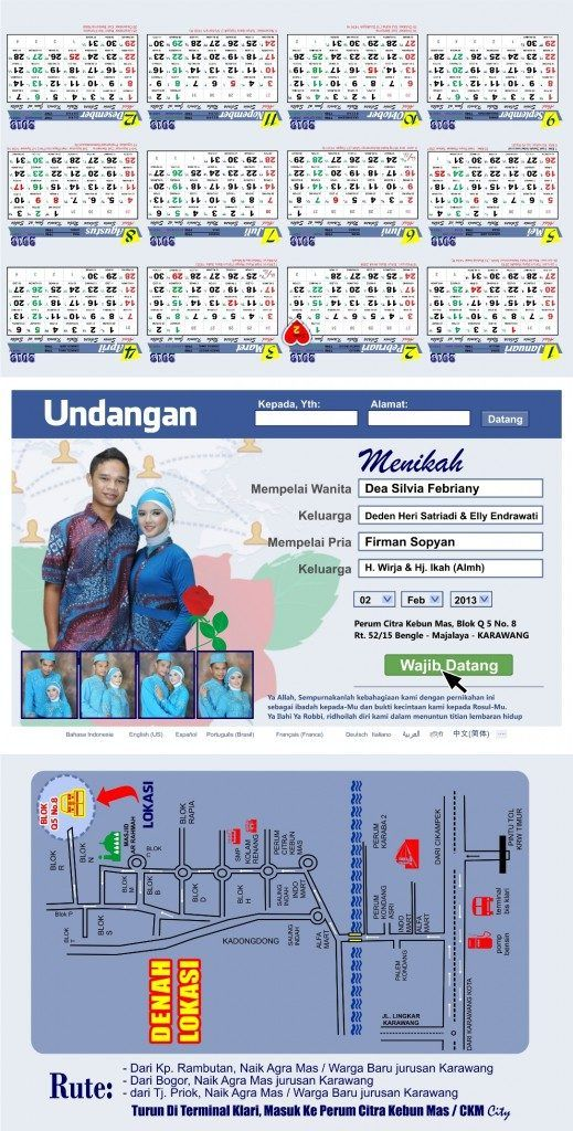 Download Desain Undangan Pernikahan Format Vector Free ...