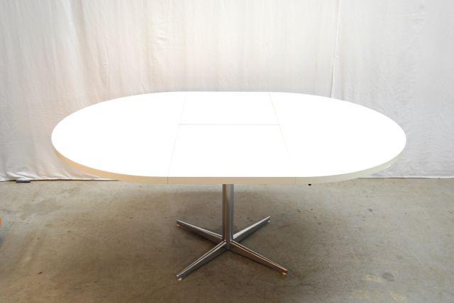 Uitschuifbare ronde tafel unique eettafel personen fotografie