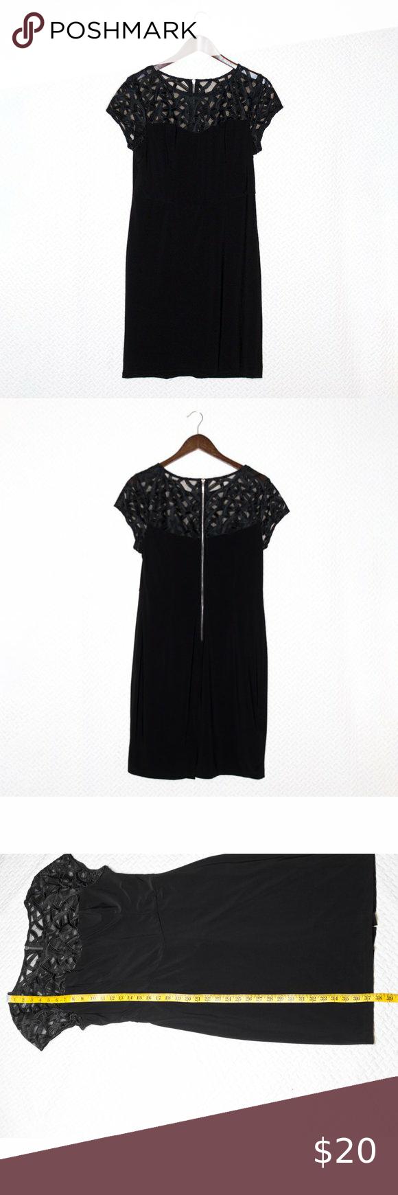Db Established 1962 Lbd With Sheer Little Black Dress Black Dress Fashion [ 1740 x 580 Pixel ]