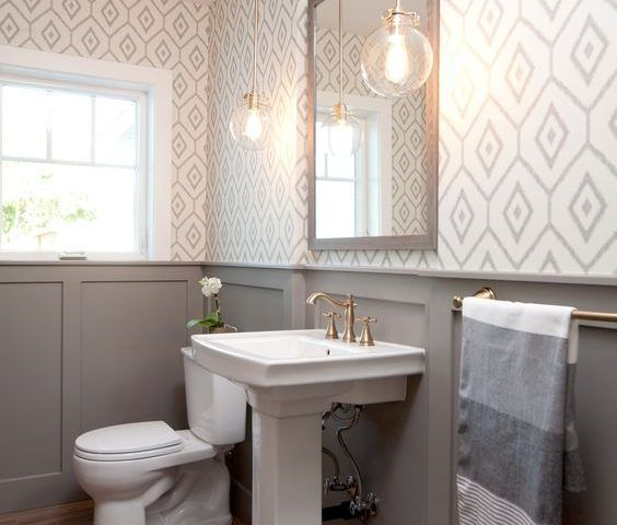 35 ideas para decorar tu baño con el color gris - Curso de ...