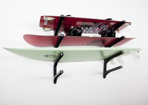 Nice Rack Surfboard Storage Racks, wall surf racks for home, garage, or display purposes. Get your board off the floor! Easy to install, Great Prices!