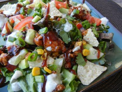 California Pizza Kitchens Bbq Chicken Salad | Recipe | Recipe ...