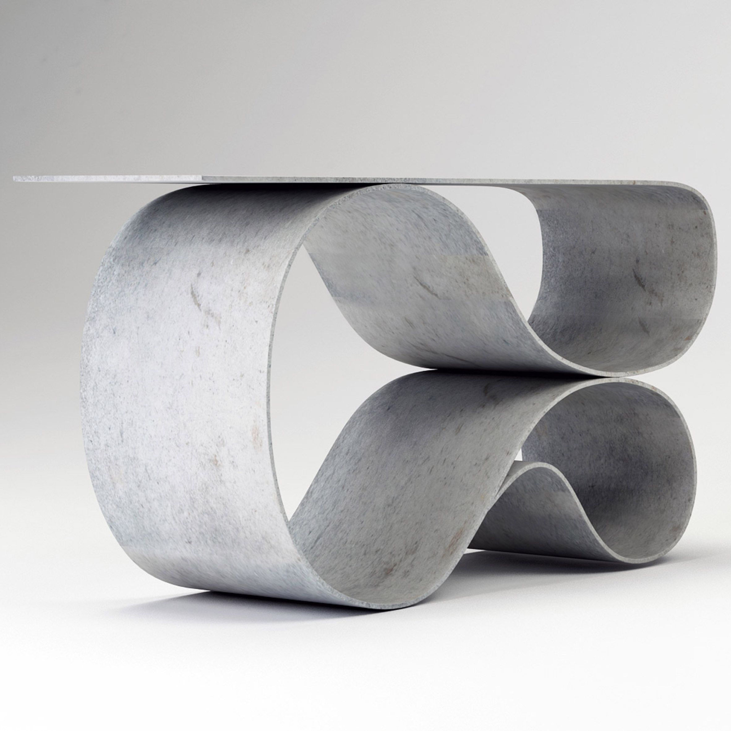 Flexible concrete cloth has made possible the swooping shapes of ...