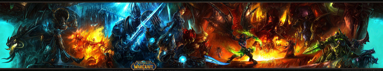 World Of Warcraft 5760x1080 World Of Warcraft Wallpaper World Of Warcraft Computer Wallpaper