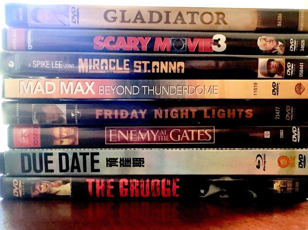 Lot 8 DVD Movies Comedy Drama Horror Scary Action Adventure Game Night Sci-Fi #ColumbiaPictures
