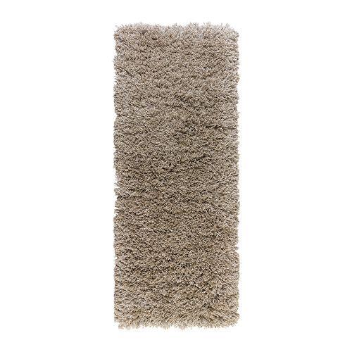 ikea g ser tapis poils hauts 56x150 cm le velours long att nue le bruit et constitue une. Black Bedroom Furniture Sets. Home Design Ideas