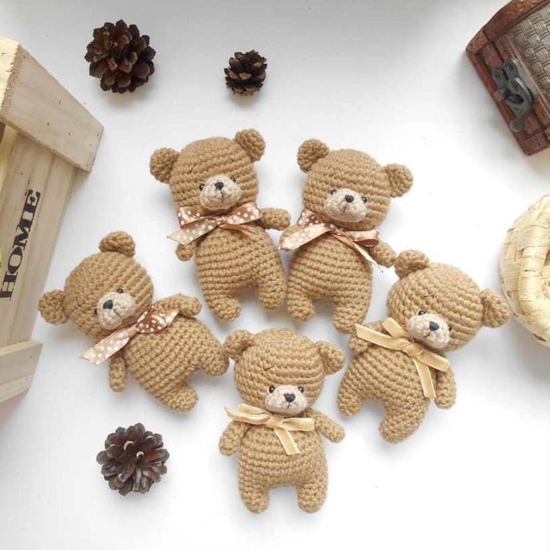 FREE amigurumi bear pattern #teddybear