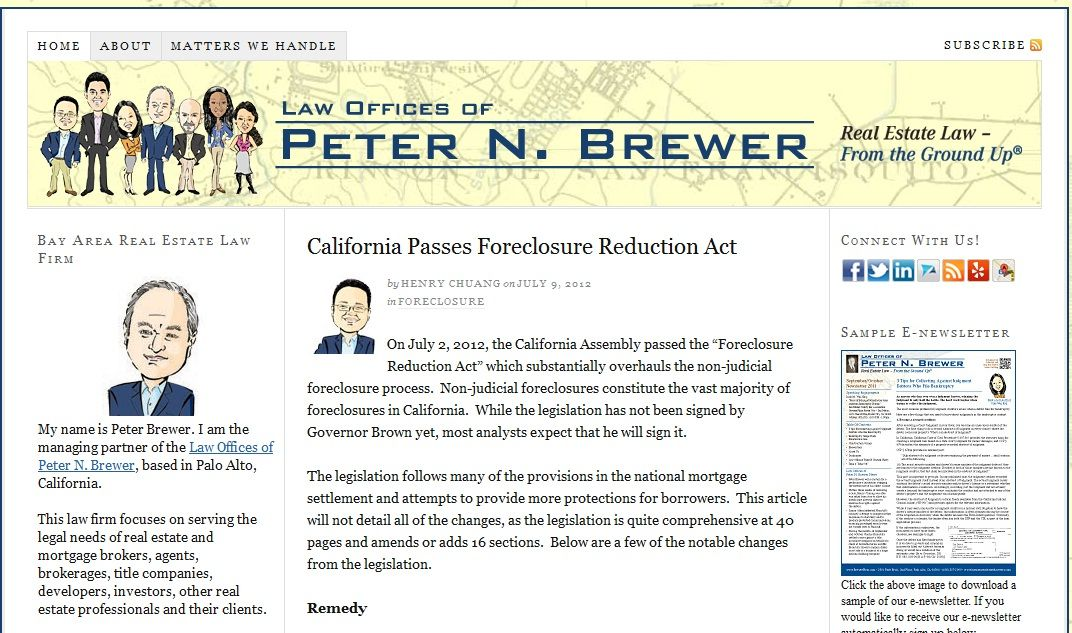 Attorney Henry Chuang discusses California Assembly passing the - commercial loan agreement