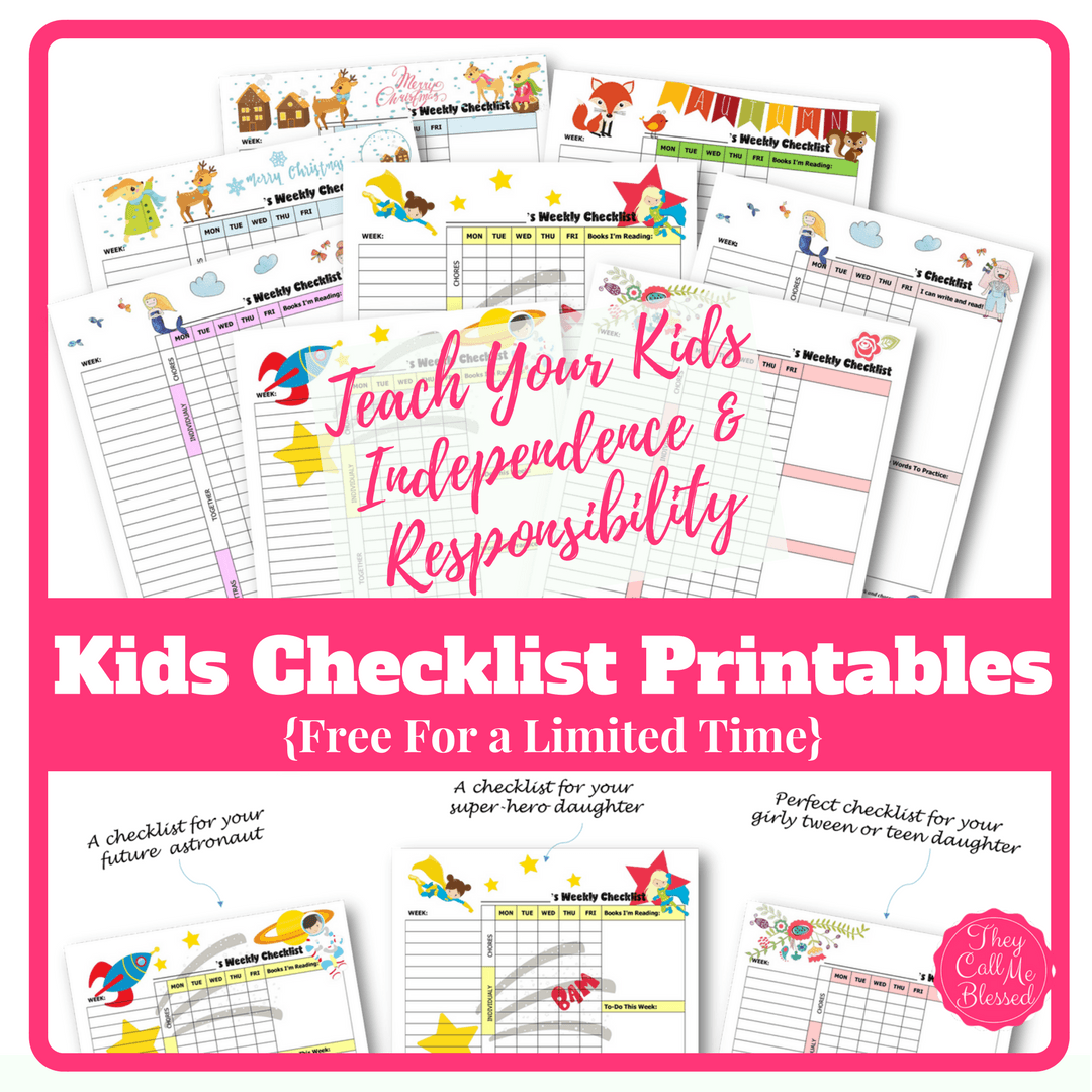 How to teach kids independence and responsibility free kids teach kids independence free printable routine checklist templates to help your kids learn independence and responsibility free chores homeschool maxwellsz