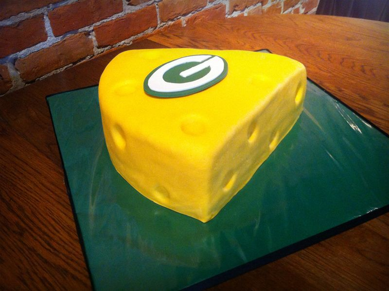 Green Bay Packers Wedding Cake | Wedding Cakes Cupcakes Cookies ABC ...