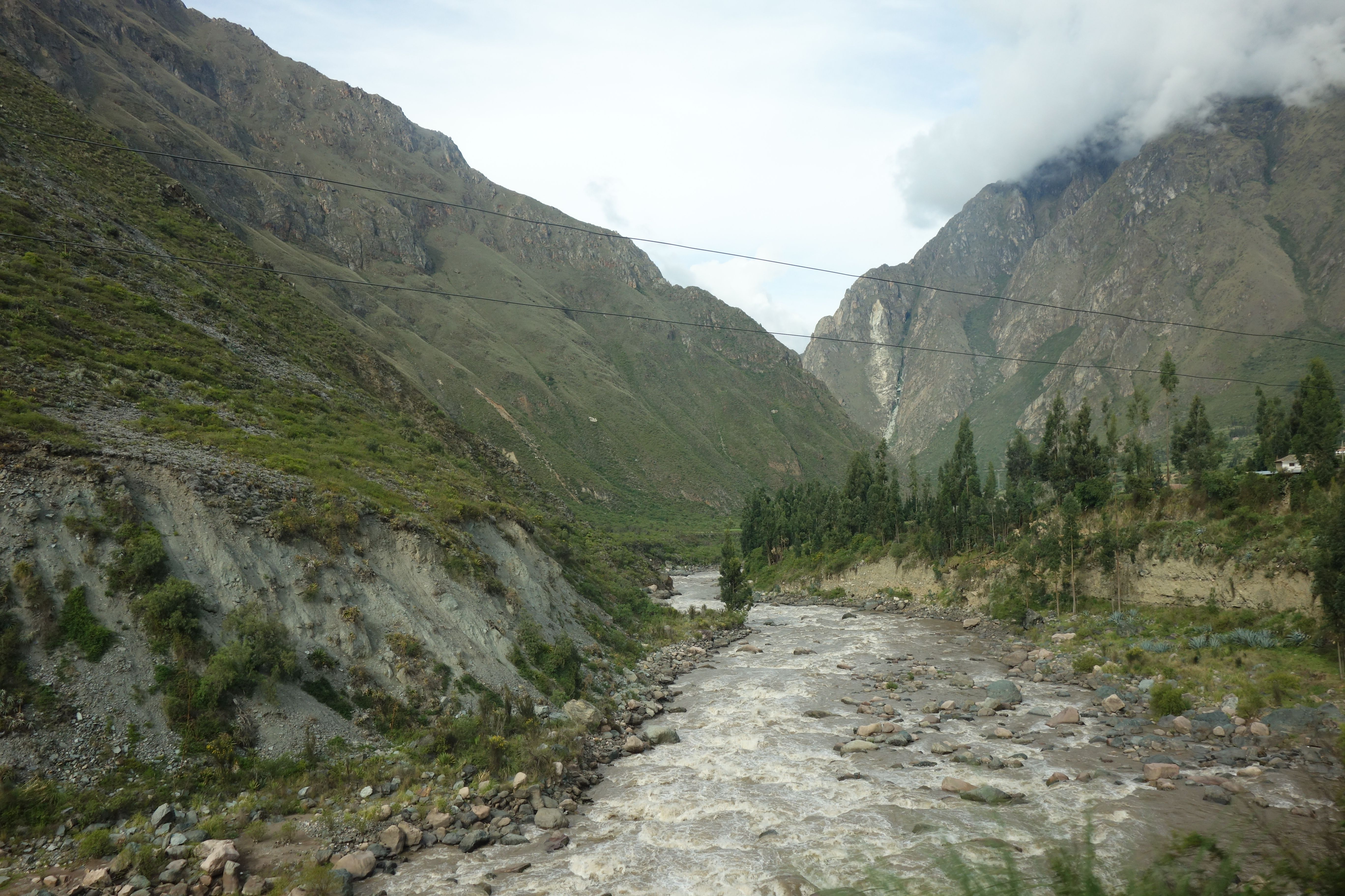 Urubamba-river, Sacred Valley, Peru.