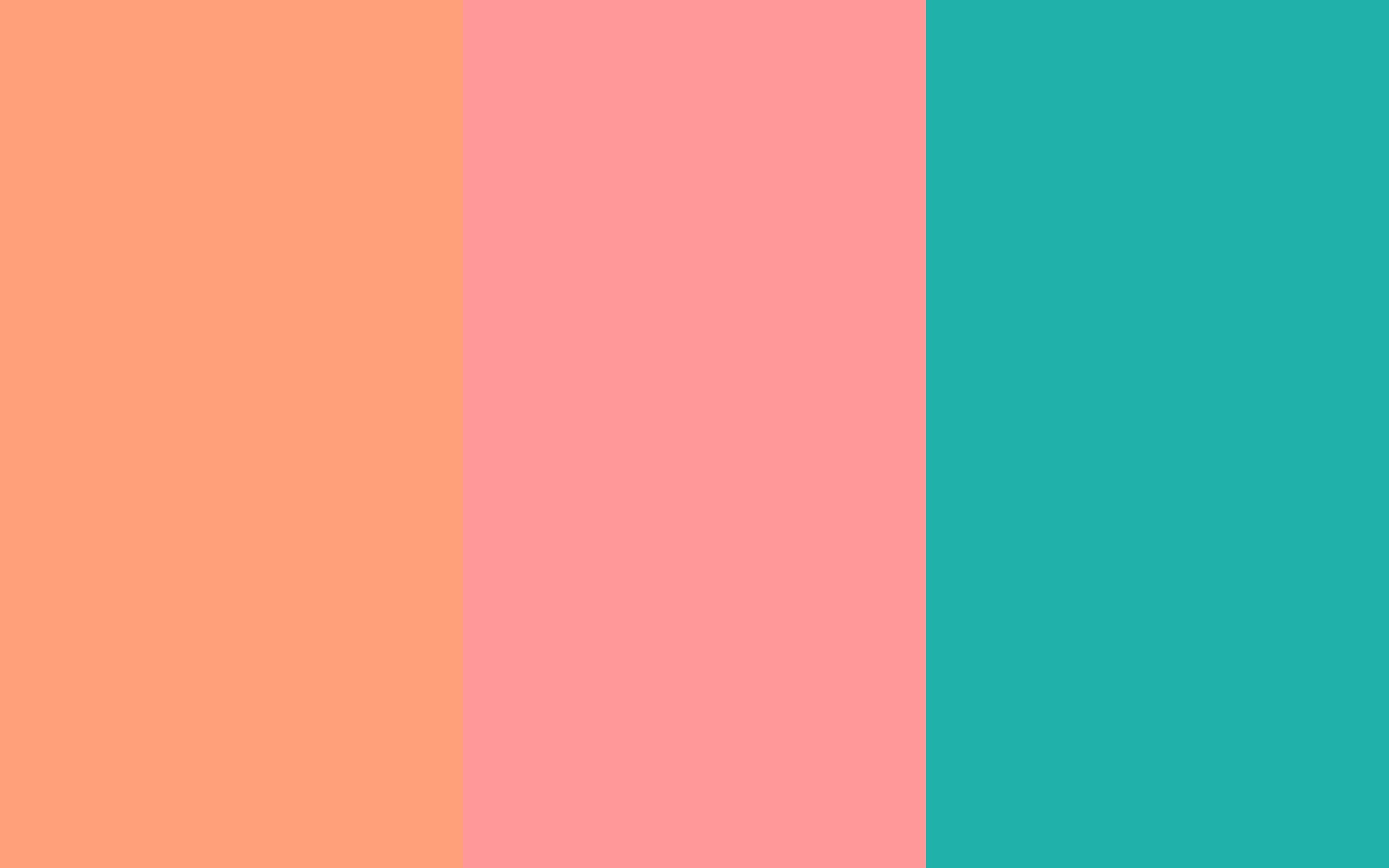 2880x1800 Light Salmon Pink Sea LightColor PalettesLight RoseColour SchemesDesign