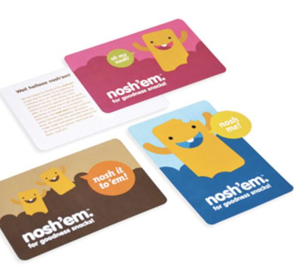Nosh ems cute business card invitation pinterest business nosh ems cute business card colourmoves Image collections