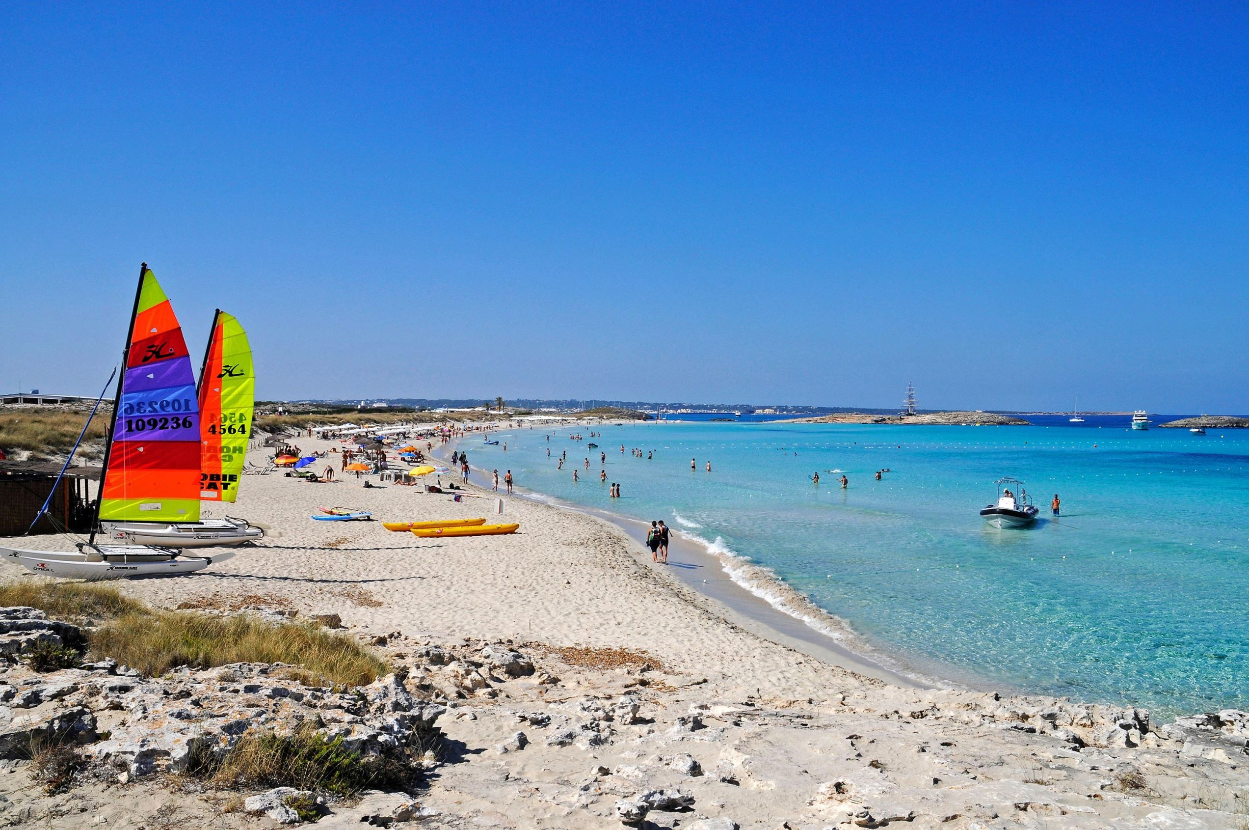 playa de ses illetes formentera spain getty