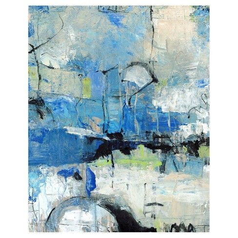 Spontaneous II Unframed Wall Canvas Art - (24X30)   Abstract, Abstract poster, Canvas wall art
