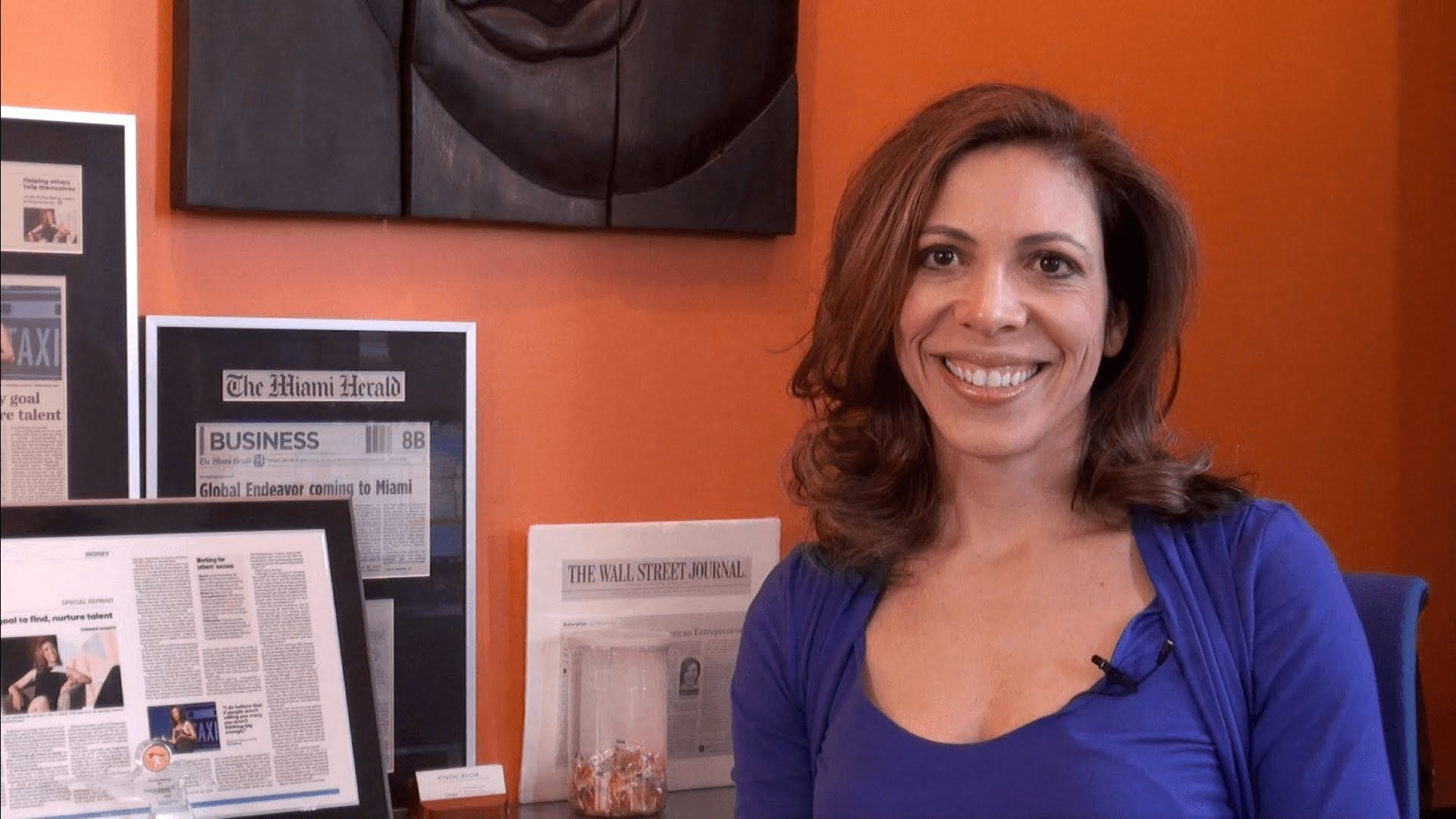 """""""The riskiest thing of all is to take no risk at all today...So you might as well learn to take smart risks in the pursuit of big dreams."""" - Linda Rottenberg, CEO & Co-Founder of Endeavor (Part II)"""