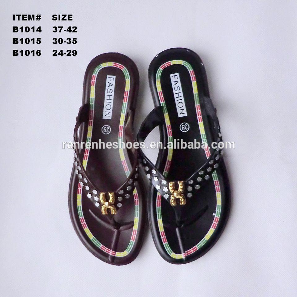 073e39bfb0f8a Summer flip flops outdoor lady flip flops children flip flops Wuchuan PVC  slippers