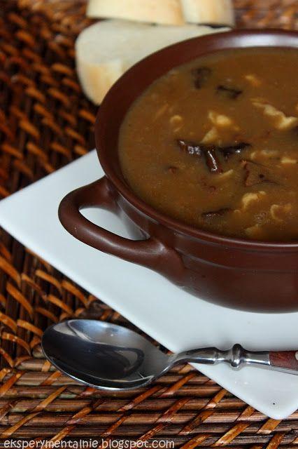 Zupa Grzybowa Z Suszonych Grzybow Najlepsza Zupa Culinary Recipes Cooking Recipes Recipes