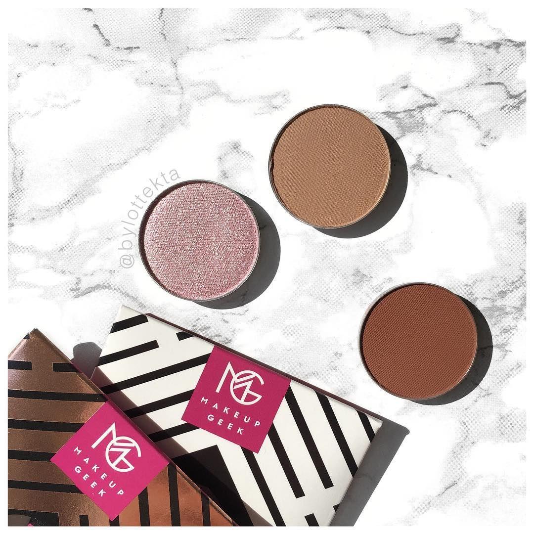 Makeup Geek 'Whimsical', 'Creme Brulee' & 'Cocoa Bear