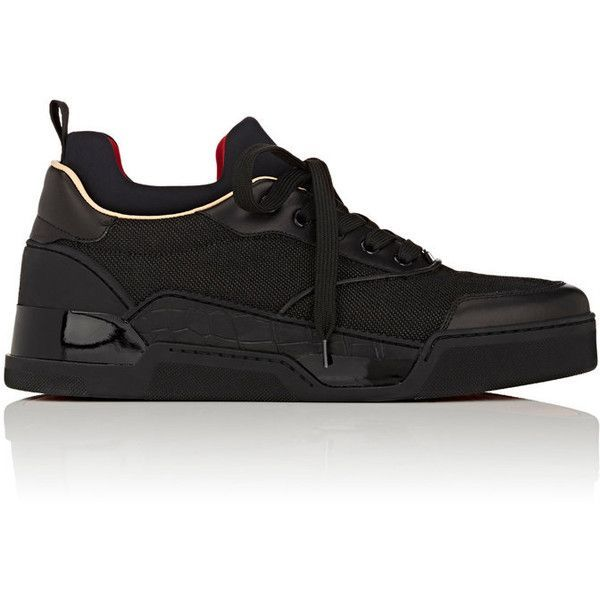 a2b5fb448185 ... cheapest christian louboutin mens aurelien flat sneakers 2.906.495 cop  liked on polyvore b2889 9dc8d