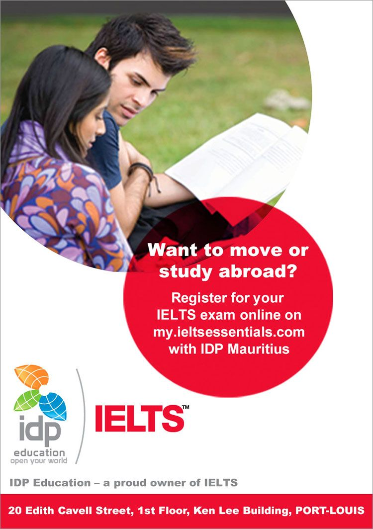 IDP Education Ltd - Book your IELTS test with IDP Mauritius ! Tel ...