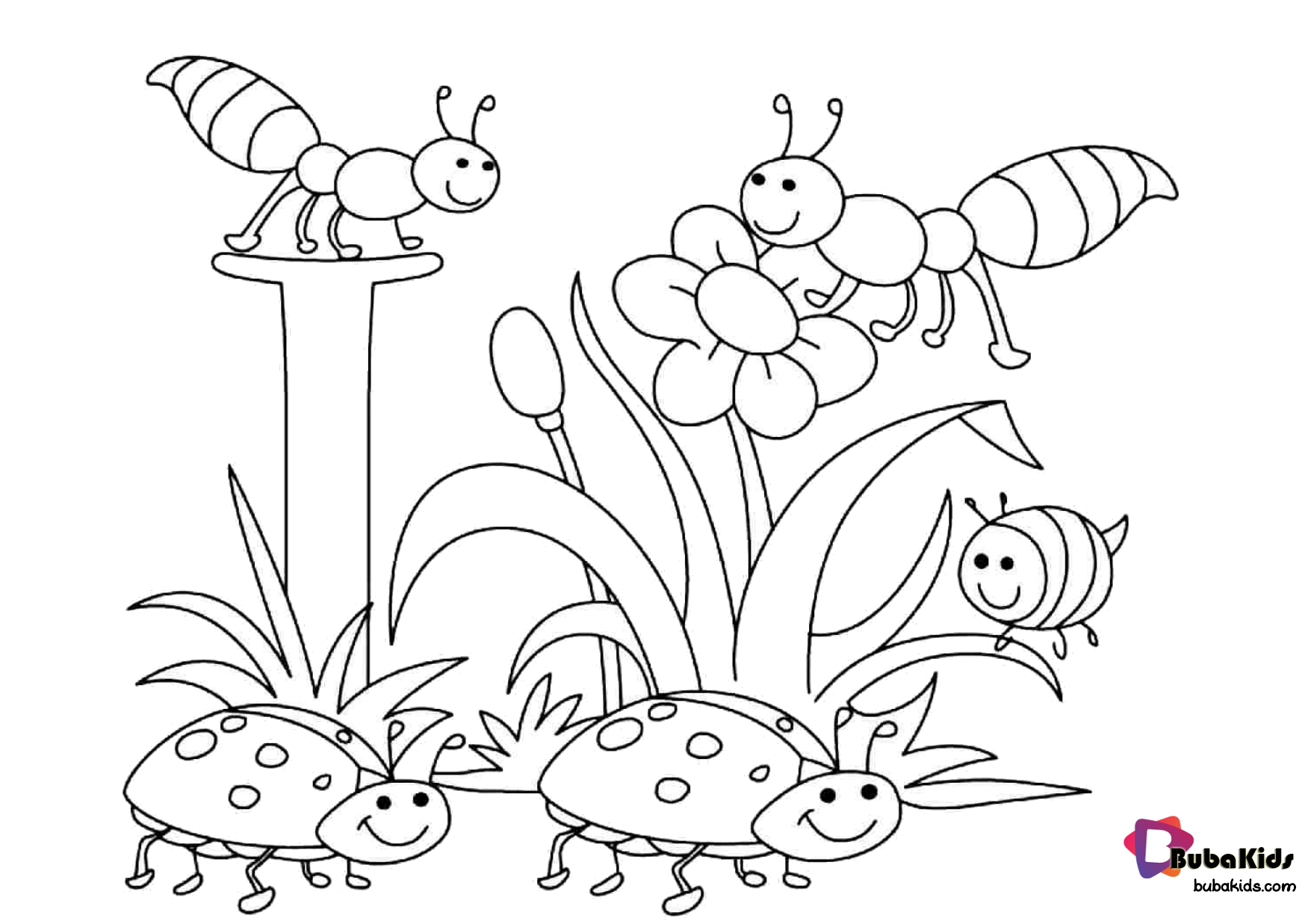 Free Download Simple And Easy Coloring Page For Preschool Collection Of Animal Coloring Pages Summer Coloring Pages Easy Coloring Pages Spring Coloring Sheets