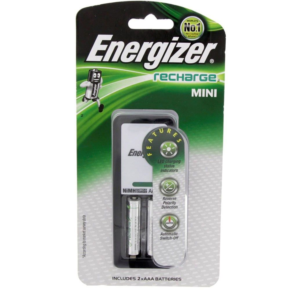 Buy Energizer Mini Charger Rechargeable Aaa Battery Ch2pc 900 Online In Uae Dubai Qatar Kuwait For Best Price Shop On Luluwebstore Com