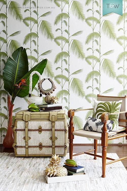 tropical coastal decor Wallpaper decor, Decor, Tropical