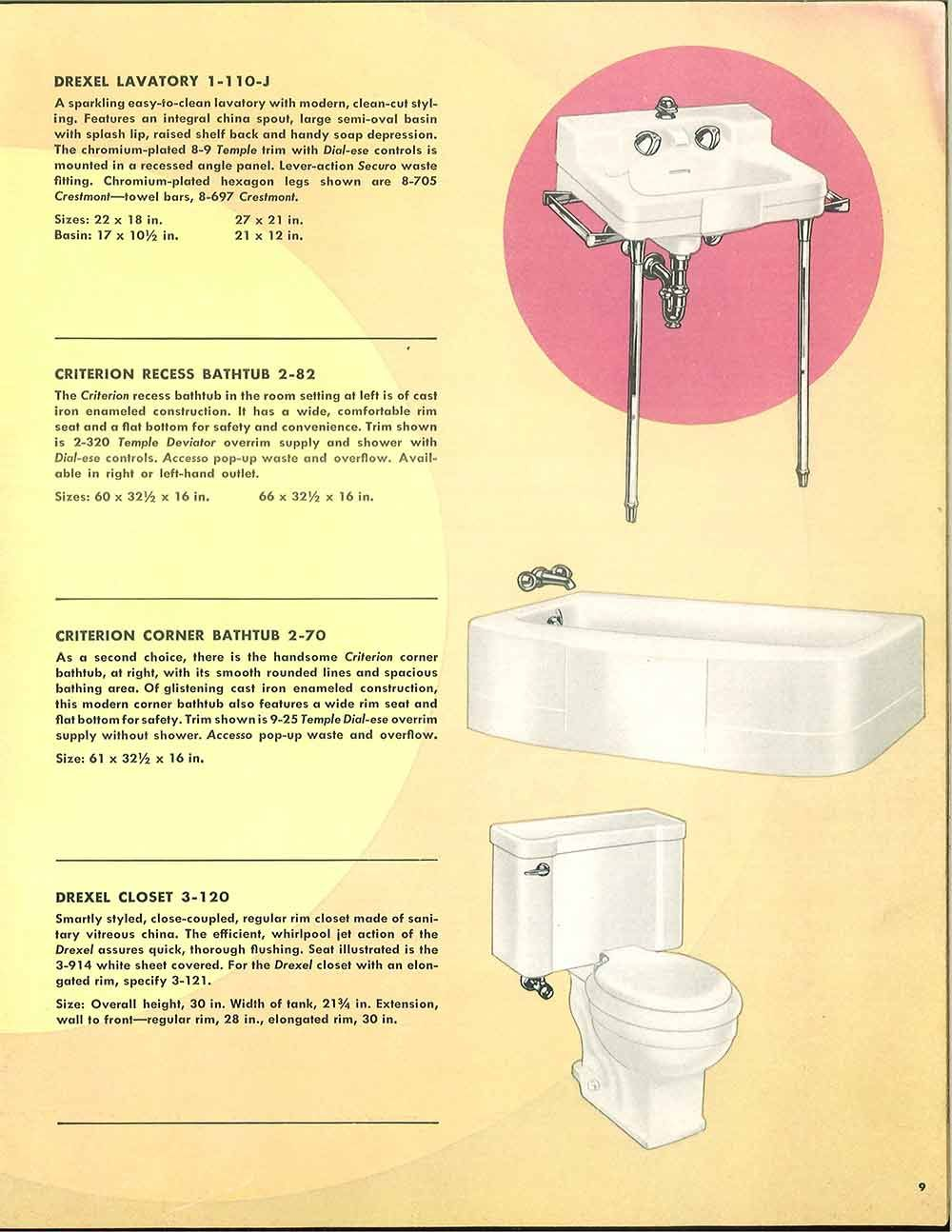 24 pages of vintage bathroom design