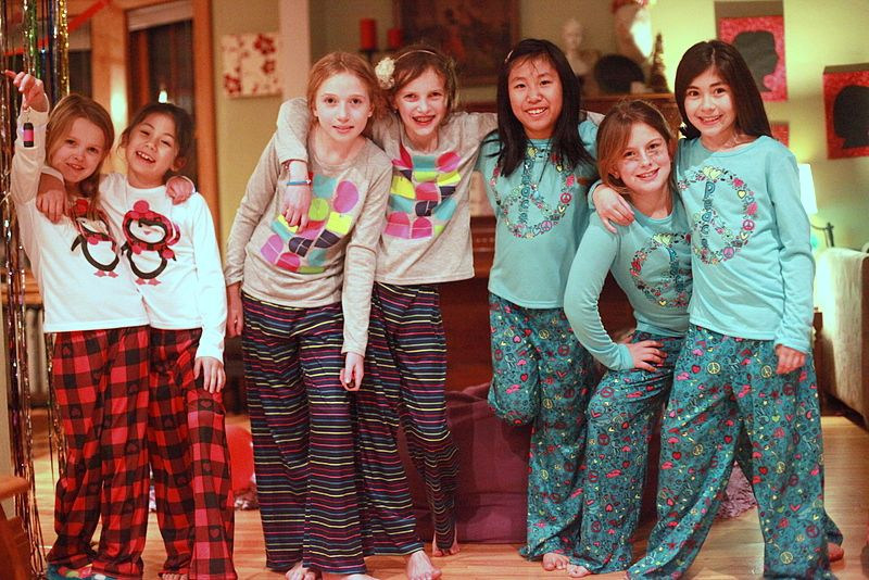 Beautiful Christmas Slumber Party Ideas Part - 7: Birthday Party Ideas