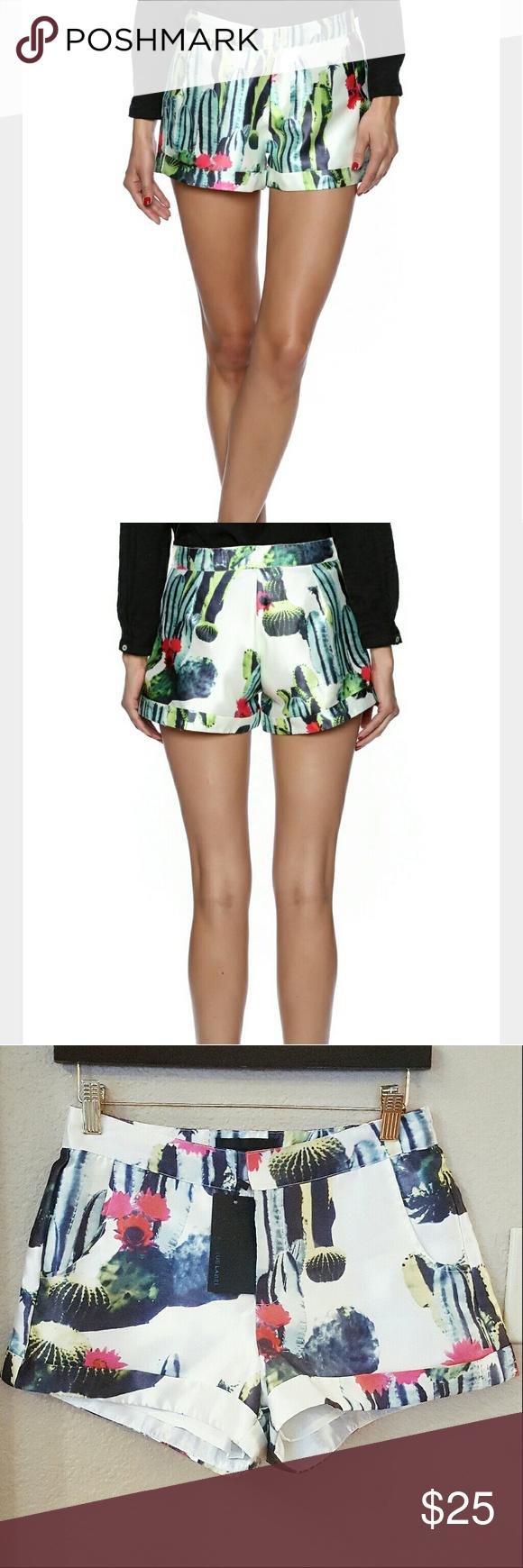 72e12cdc2e5 Blaque Label Cactus Shorts NWT Blaque Label Cactus Shorts Bought for  109  BRAND NEW