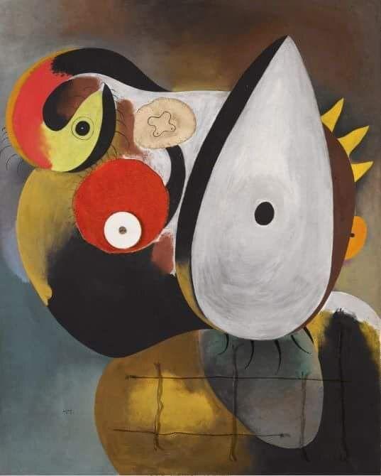 Joan Miró -Tête humaine , 1931