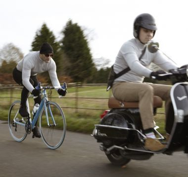 Velobici San Remo Classic Turtleneck Works On Vespa S Too With