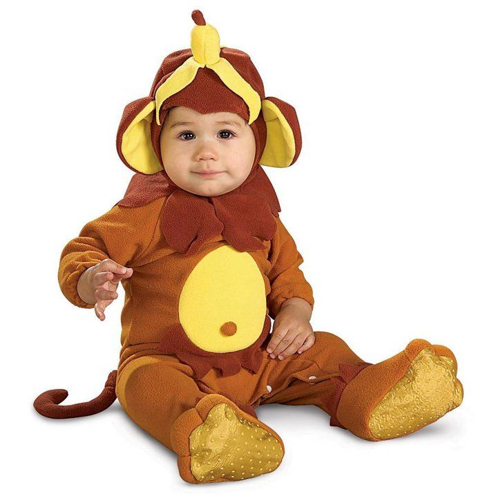67 Precious Halloween Costume Ideas That Will Keep Your Baby Warm Little Monkey Infant Costume Little Monkey Infant Costume ($20)