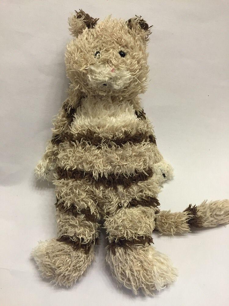 Jellycat Junglie Bunglie Kitten Plush Soft Toy Cat Stripe Kitty