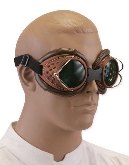Machinist Brown Costume Goggles