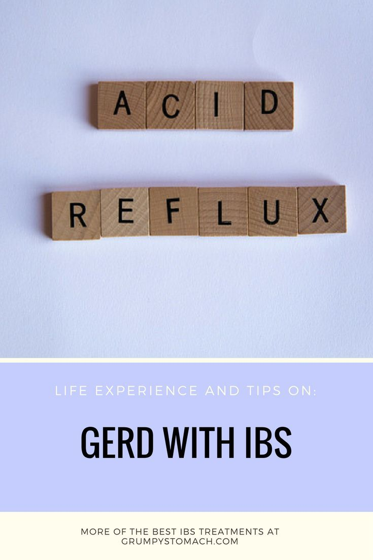 picture Living With IBS and GERD