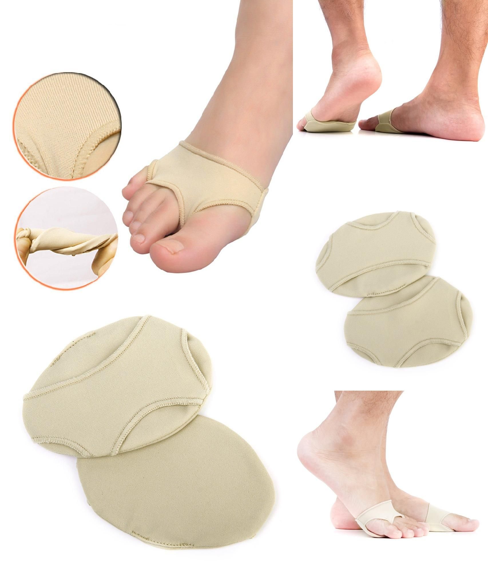 Visit to Buy pcs Foot Gel Forefoot Metatarsal Pain Relief Absorber