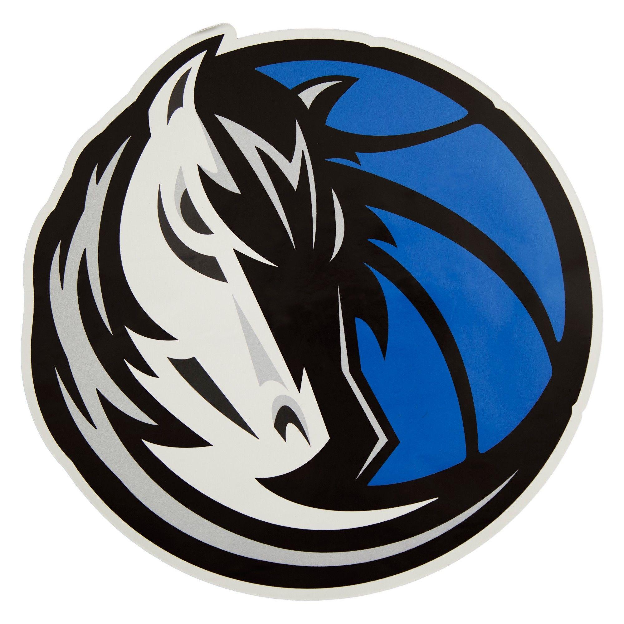 online retailer 01d1f 0b35e NBA Dallas Mavericks Small Outdoor Logo Decal | A reorganise ...