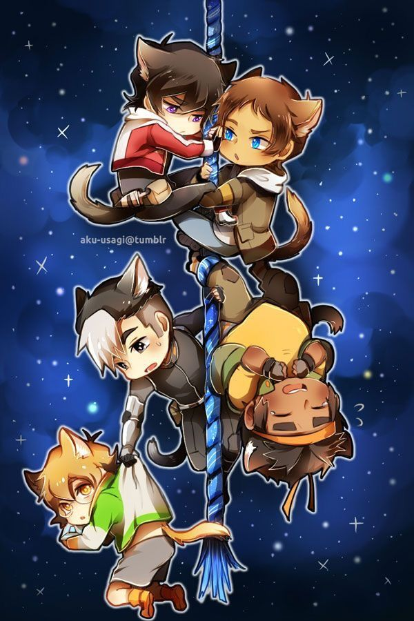 Pin by Saigepoly Cat on Voltron/Klance | Voltron fanart