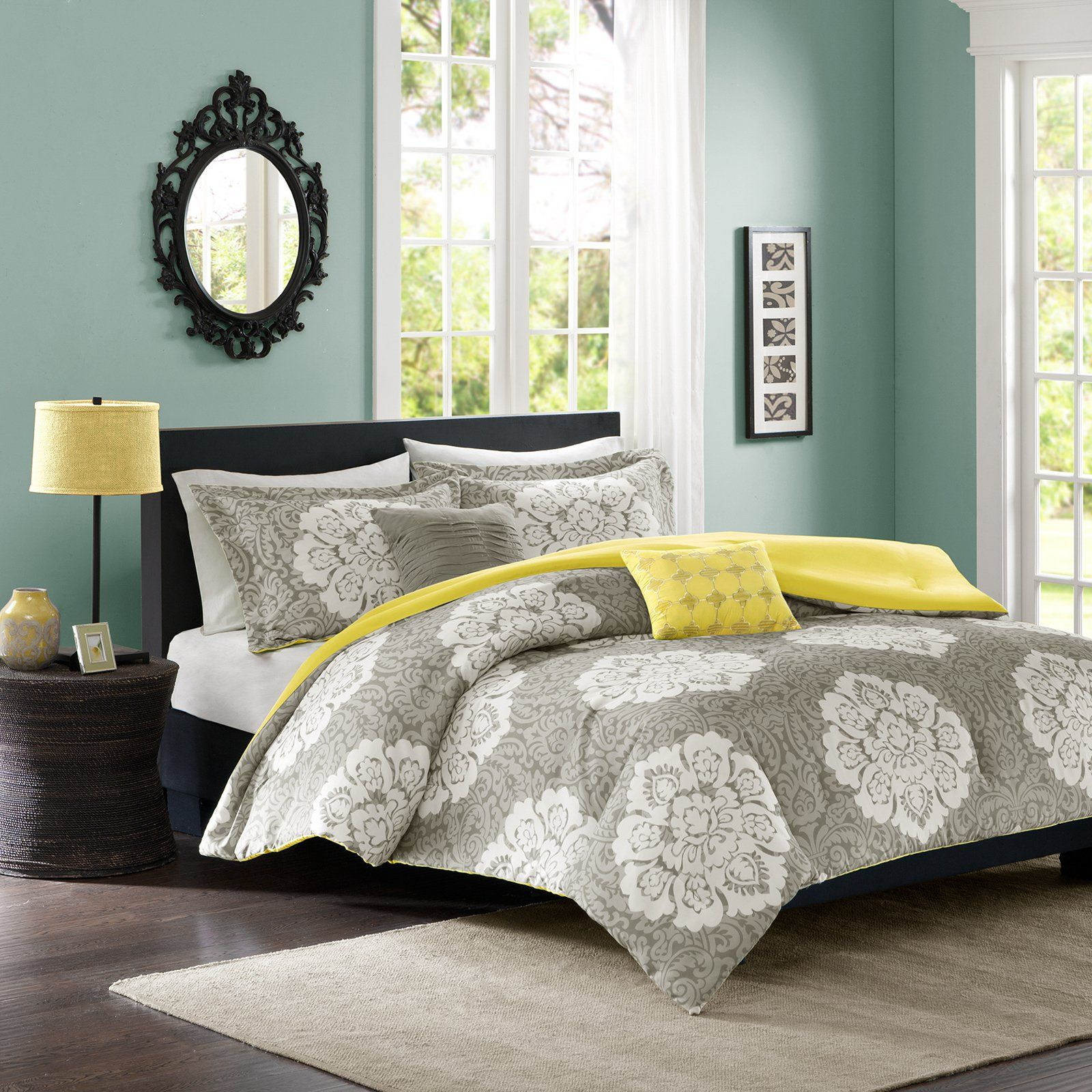 bed twin black sets queen grey king bedding full comforter furniture bedroom blue navy set size down white and