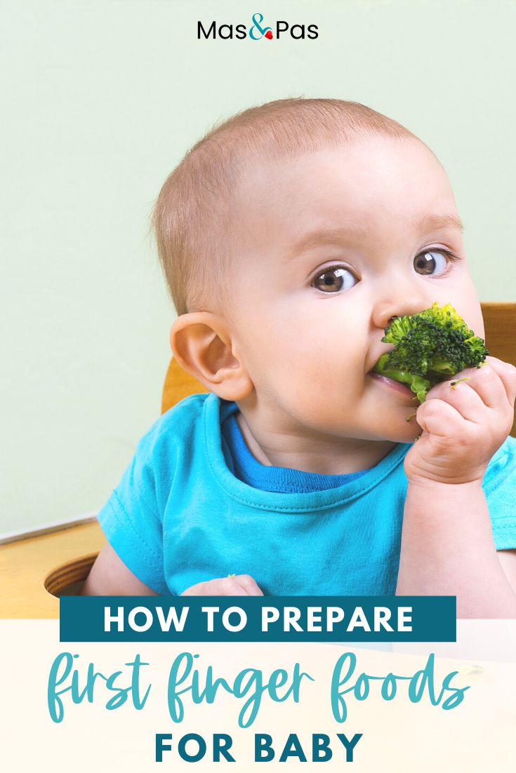 Learn how to prepare a baby's first finger foods for baby ...