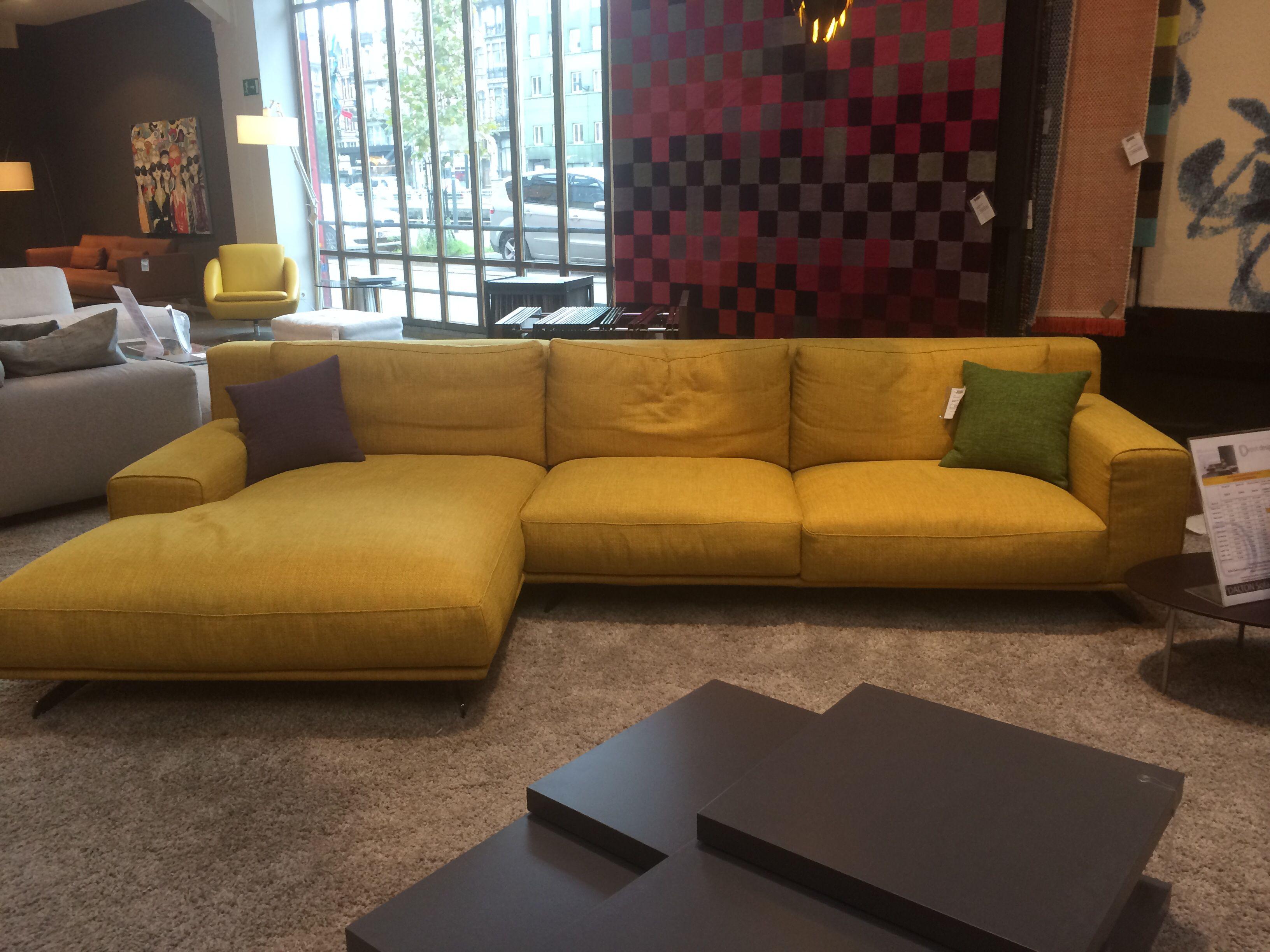 Divano Nero ~ Depot design dalton divano sofa feet nichel nero sofa chaise
